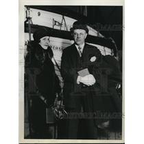 1926 Press Photo Stillman Arrives in France
