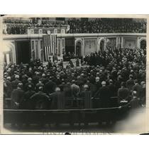 1923 Photo James Shera Montgomery Methodist Minister Leads Congress Prayer