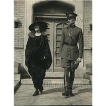 1923 Press Photo Captain & Mrs Harry Martel Gwynn to Central American Republics