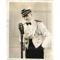 1935 Press Photo Don Hix Singer - orp19255
