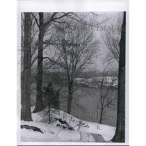 1960 Press Photo Cumberland River Seen From Fort Donelson at Dover, Tennessee