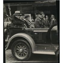 1927 Press Photo General Pershing Cleveland Visit