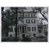 1960 Press Photo Birthplace of Juliette Gordon Low, founder of the Girls Scouts