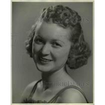 1939 Press Photo Marian Patton Singer with Bob Mitchell's Dance Orchestra