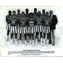 1992 Press Photo Harlem Globetrotters 1991-92