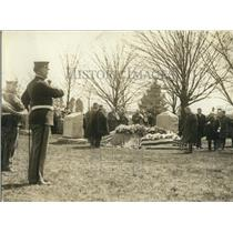 1923 Press Photo Funeral Service Major General William P. Biddle