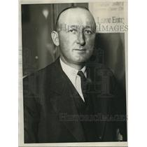 1926 Press Photo David H. Madsen, Federal Fish & Game Commissioner