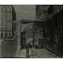 1926 Press Photo Old Police Station