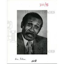 1983 Press Photo Horace Rickerson Victim of Frank Spisak Nazi