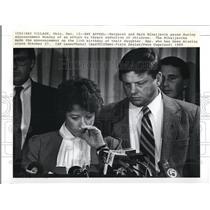 1989 Press Photo Margaret and Mark Mihaljevik of an effort to thwart abduction