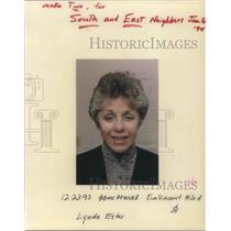 1993 Press Photo Lynda Estes - ora22787