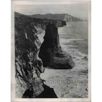 1949 Press Photo Tongaporutu Taranaki New Zealand