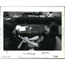 1995 Press Photo Marta Guembes - ora31358