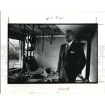 1991 Press Photo Councilman William Patmon of Ward 8