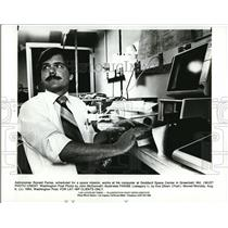 1984 Press Photo Astronomer Ronald Parise, scheduled for a space mission
