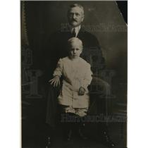 1920 Press Photo General John Pershing photo in civilian clothes