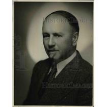 1937 Press Photo John Smallman Conductor of Church Choir - orp26663