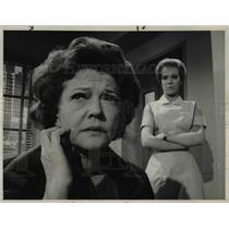 1964 Press Photo Sylvia Sidney Zina Bethune The Nurses