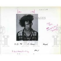 1990 Press Photo Richard Michael Keating Skinhead - ora43717