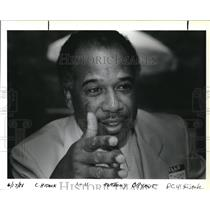 1988 Press Photo Anthony G. Bryant, a former Black planter and airline hijacker