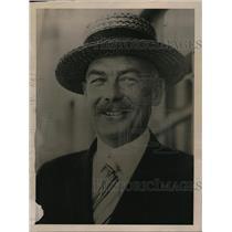 1922 Press Photo Rear Adm David Potter chief of Bureau of Supplies