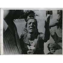 1945 Press Photo Angelica Prandini escaped to Taranto when village was bombed