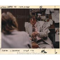 1990 Press Photo Dean Beaulieu working for alcoholism treatment at Harbor