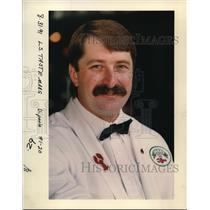 1991 Press Photo Scott Konrady, professional bartender - ora48608