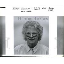 1995 Press Photo Verna Hanke in the picture - ora35439