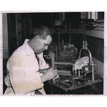 1935 Press Photo Drugh Foundation Western University, bones birth to maturity