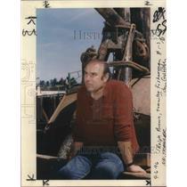 1996 Press Photo Ralph Brown, trawler fisherman - ora19603