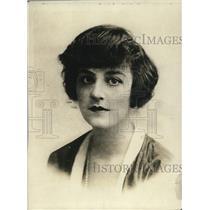 1919 Press Photo Viscountess Drumlanrig young actress Miss Irene Richards