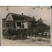 1921 Press Photo House was Built in 8 Hours - nee01421