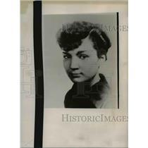 1938 Press Photo Julia Zemich - nee00290