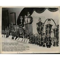 1942 Press Photo American Bicycle League of America National Champ Awards