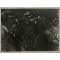 1927 Press Photo Gen. John J Persjing and Howard Savage with American Legionaire