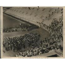"1925 Vintage Press Photo Harvard Students Celebrate Class Day ""Yard""."
