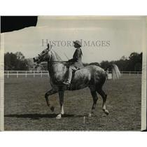 1930 Press Photo 12th annual West Point Horse show Miss Priscilla St. George