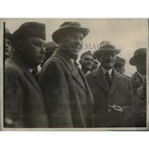 1927 Press Photo Gen. John J. Persjing and Howard Savage American Legionaiers