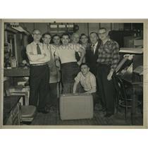 1958 Press Photo Harvey Dier - nee05035