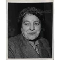 1953 Press Photo Mrs Jane M Spaulding - nee03623
