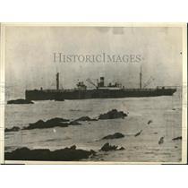1923 Press Photo The Freighter Brush - nee04759