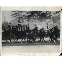 1928 Press Photo Toyko Japan Emperor en route to coronation - nee05297