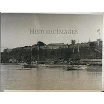 1933 Press Photo of the Cabana's Fort in Havana, Cuba - nee04934