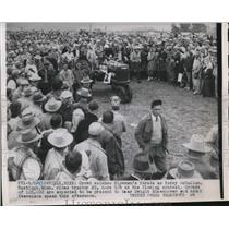 1959 Press Photo Plowville Percy McCallum - nee02764