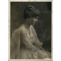 1919 Press Photo Eleanor Bliss, daughter Gen Tacker Bliss, US Peace Corp