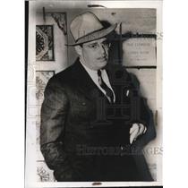1940 Press Photo Elliot Rosswell