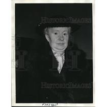 1937 Press Photo Mrs. Johanna M.O Kaphengst Garrett - nee02281