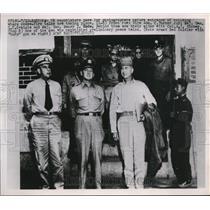 1951 Press Photo UN Negotiators Vice Adm C Turner Joy, Colonel AJ Kinney
