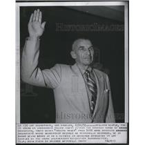 1955 Press Photo of Undercover police officer William Kimple who spent 11 years